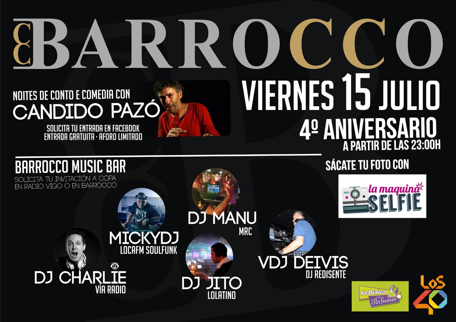 15-07-2016 Barrocco Aniversario