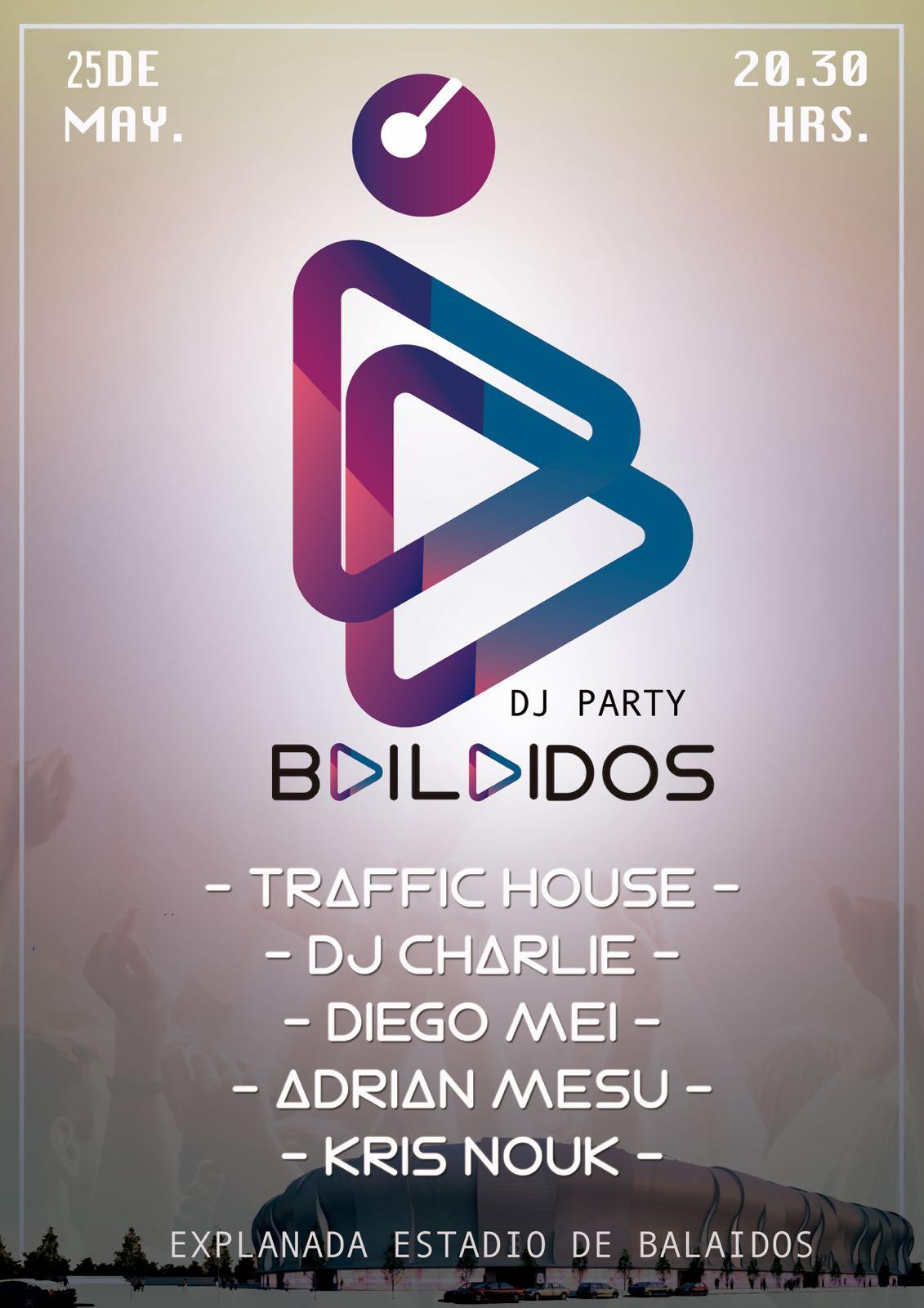 25-05-2017 Bailaidos DJ