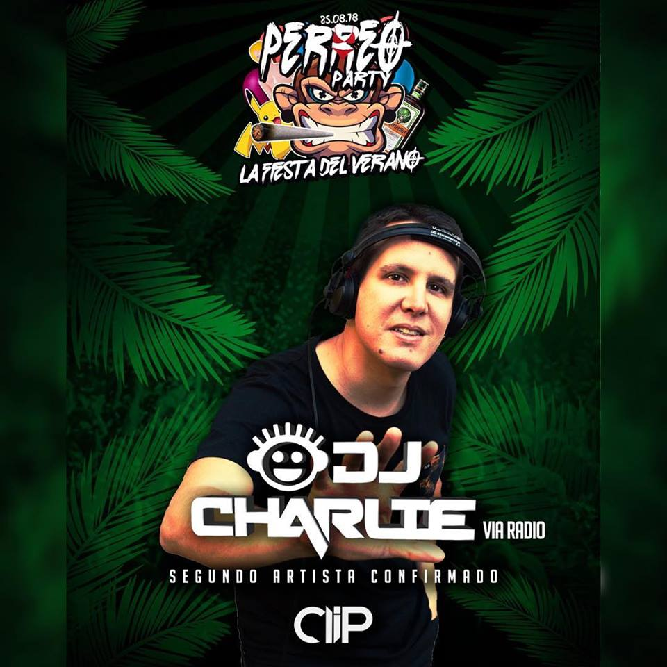 25-08-2018 CLIP Perreo Party CHARLIE