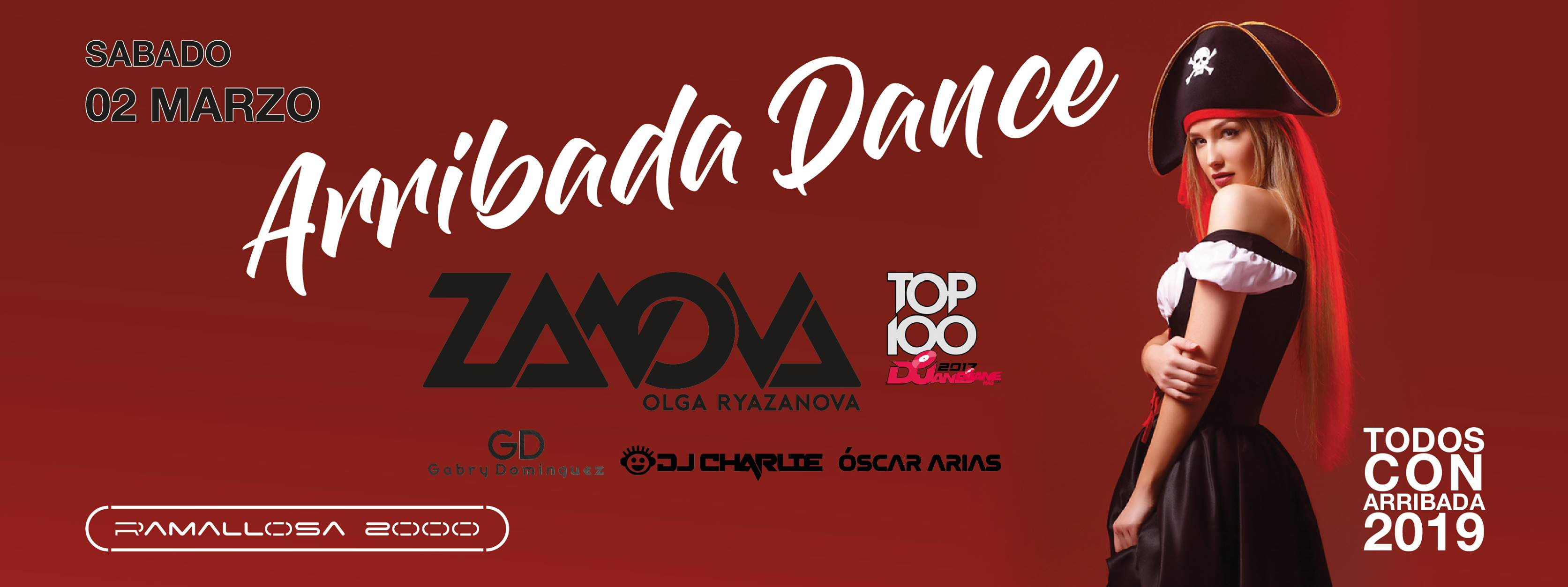 02-03-2019 Ramallosa 2000 arribada dance